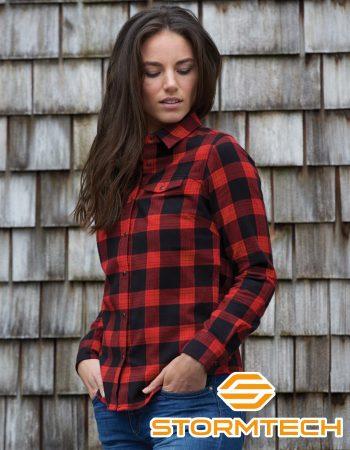 Stormtech Women's Logan Snap Front Flannel #SFX-1W