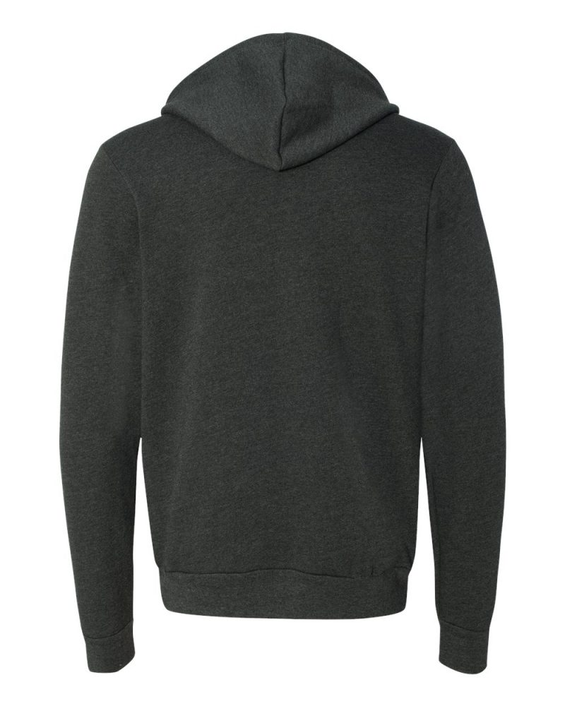 Bella + Canvas Unisex Sponge Fleece Full-Zip Hoodie #3739