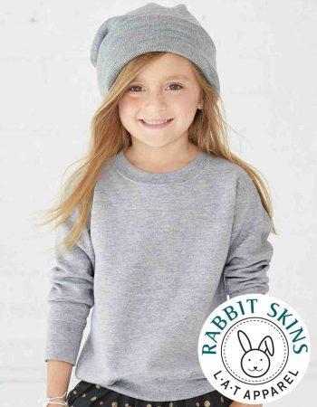 TODDLER Rabbit Skins Crewneck Sweatshirt #3317