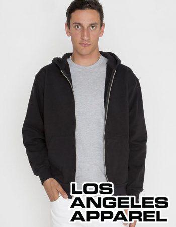 LA Apparel Heavy Fleece Zip Hoodie #HF10